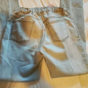 Girls old Navy faded look jeans sz 14 R